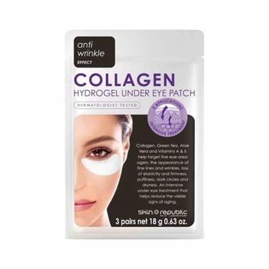 Skin Republic  Collagen Hydrogel Under Eye Patch 3 Pairs 9.6g Renksiz